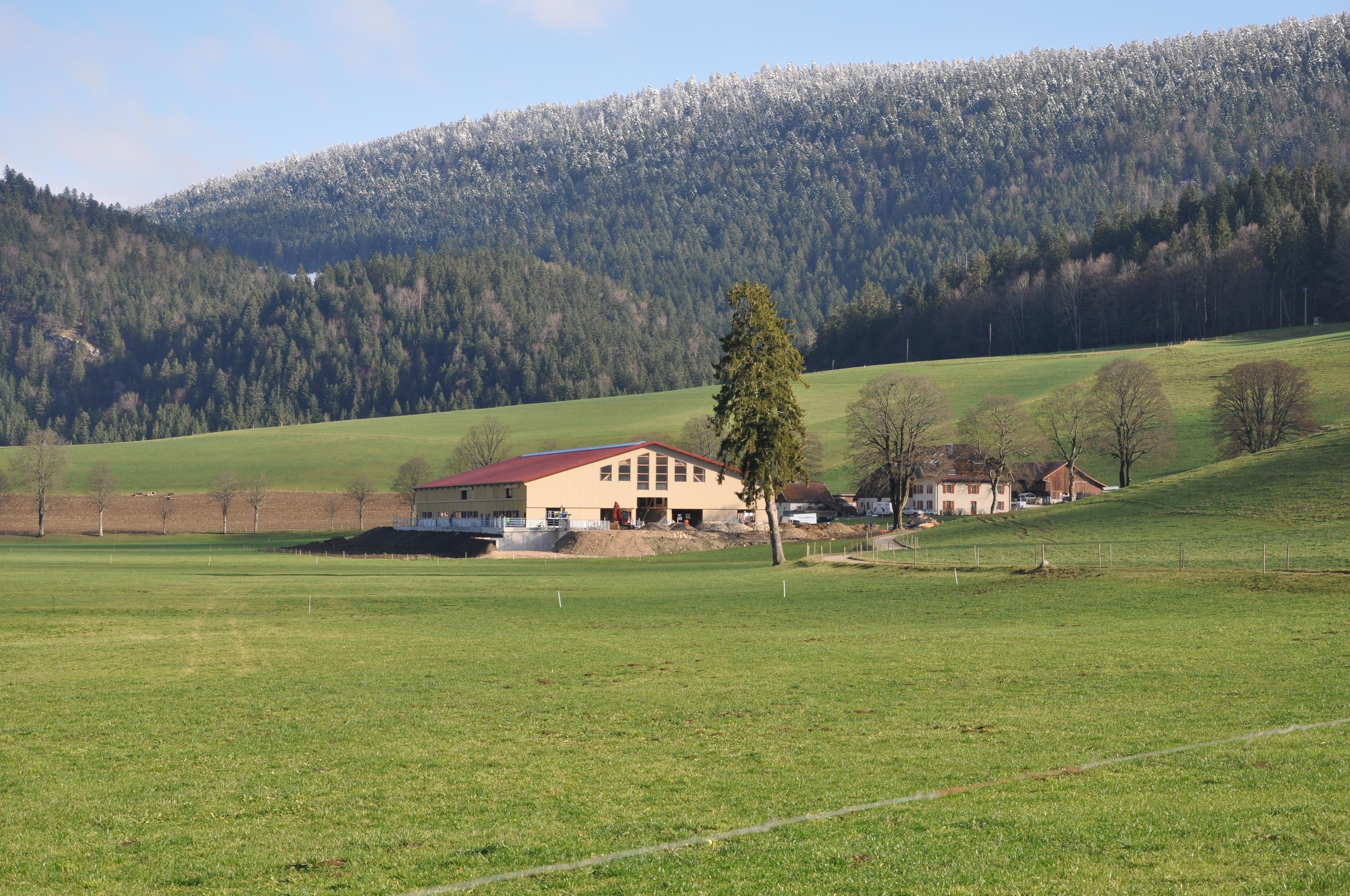 Fin de la construction du rural